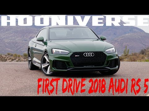 First Drive: 2018 Audi RS 5