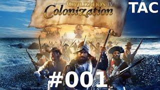 Let's Play Sid Meier's Civilization IV - Colonization #001 Entdeckergefühle (Deutsch/German)