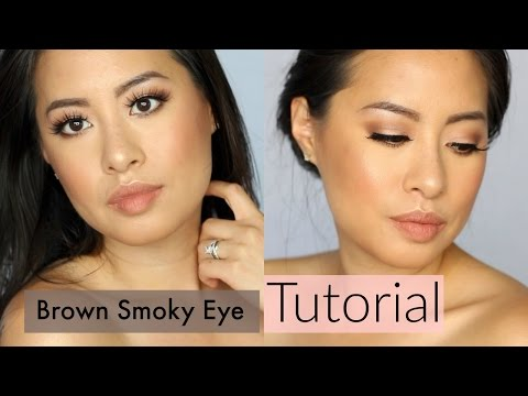 Easy Brown Smoky Eye Tutorial | MAC + Makeup Geek eyeshadows