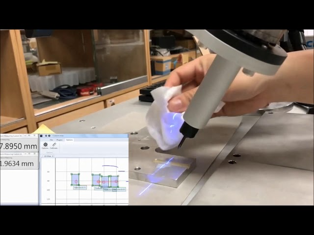 Precision Laser Measurement Under Interference of Dirty Cutting Fluid on CNC Machining - by Quadrep
