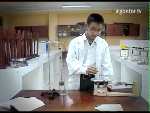 A Archimedes Gontor Tv Laboratorium Fisika Gontor Youtube