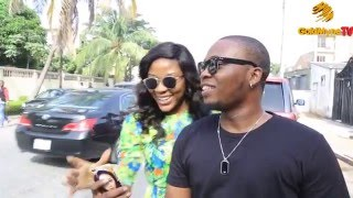 WATCH HOW A MARRIED WOMAN INTERRUPTS OLAMIDE39S LIVE INTERVIEW FOR A SELFIE