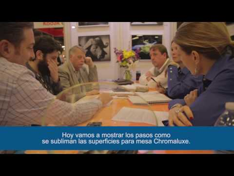 ChromaLuxe Sublimation Tabletops - Spanish Subtitled