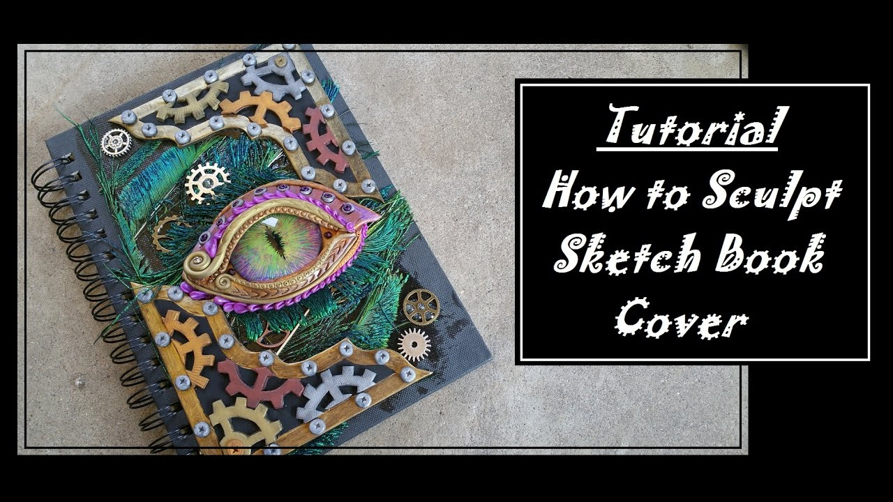Dragon journal cover polymer clay tutorial youtube.