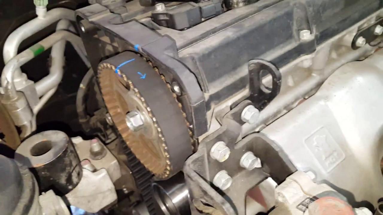 hyundai kia 1 6 timing belt marks [ 1280 x 720 Pixel ]