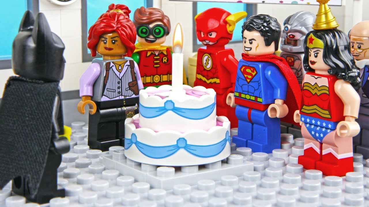 Lego Batman Birthday Party Youtube