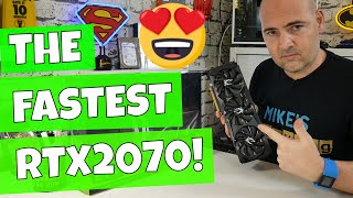 Zotac RTX 2070 AMP Extreme Unboxing The Fastest RTX 2070
