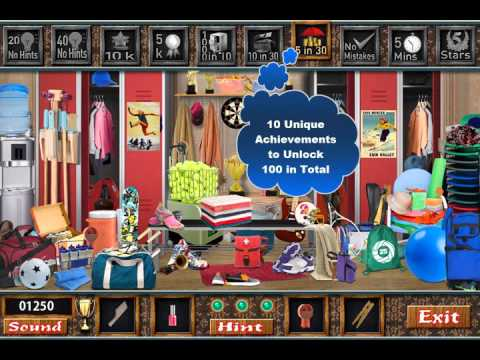 The Locker Room Free Find Hidden Objects Games Youtube