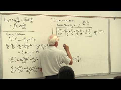 Heat Transfer: Conduction Heat Diffusion Equation (3 of 26)
