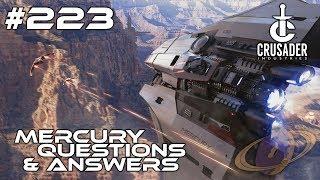 Star Citizen #223 Crusader Mercury Star Runner - Questions & Answers [Deutsch]