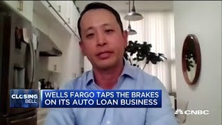 Wells Fargo taps brakes on its auto loan business