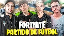 JUGANDO UN PARTIDO DE FUTBOL *REAL* EN FORTNITE! | PEEREIRA