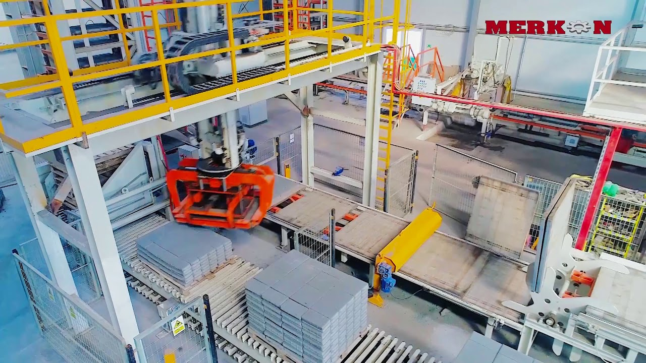 Merkon Machine Factory Promotion Film - IKM Production