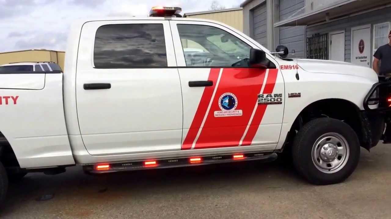2014 Dodge Ram Emergency Lighting  YouTube
