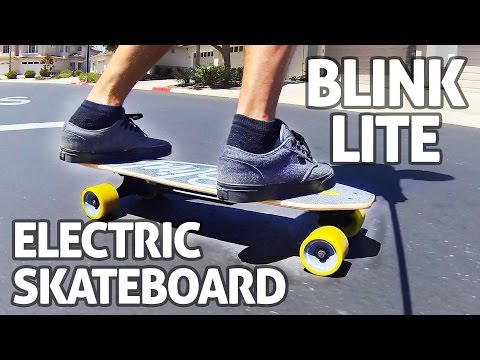 Blink Lite Electric Skateboard, World's Lightest + Very Affordable - REVIEW