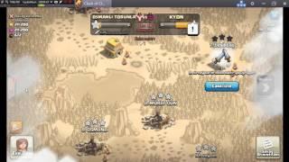 Clash of Clans oynuyoruz #1