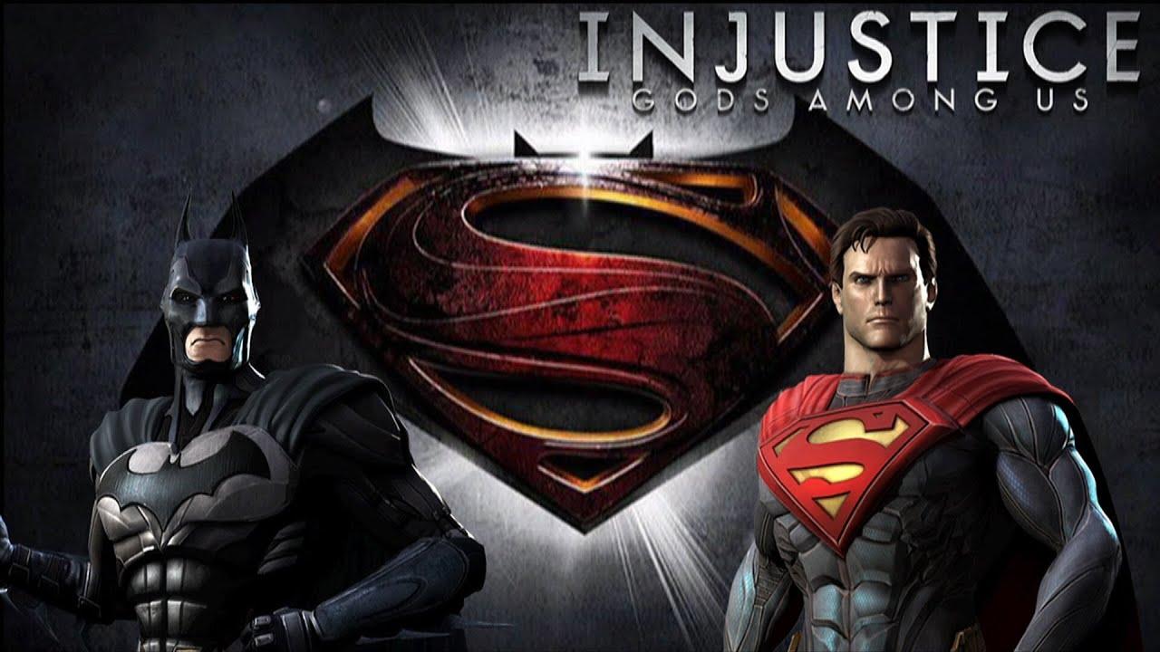 Injustice gods among us batman vs superman with lore skins youtube voltagebd Gallery