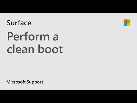 How To Do A Clean Boot In Windows | Microsoft