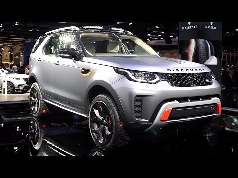 Jaguar Land Rover at the Frankfurt Motor Show - Impressions