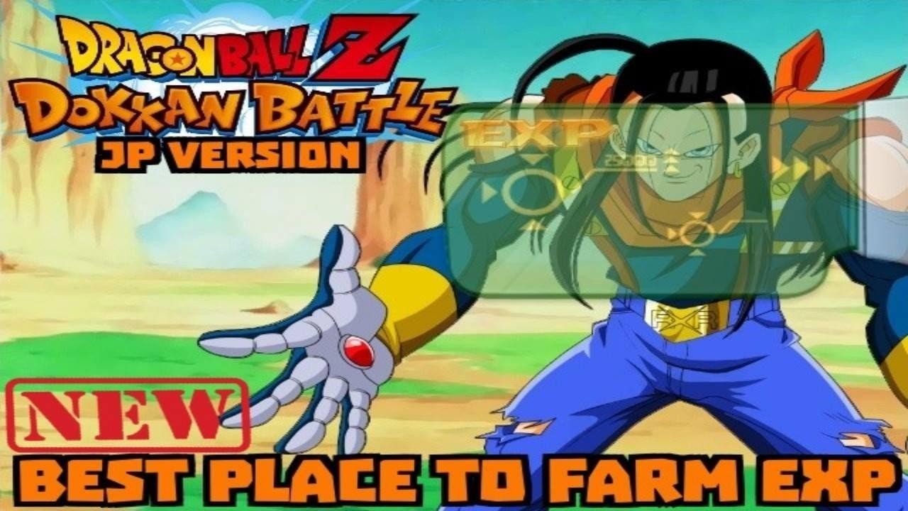 dokkan battle exp farm
