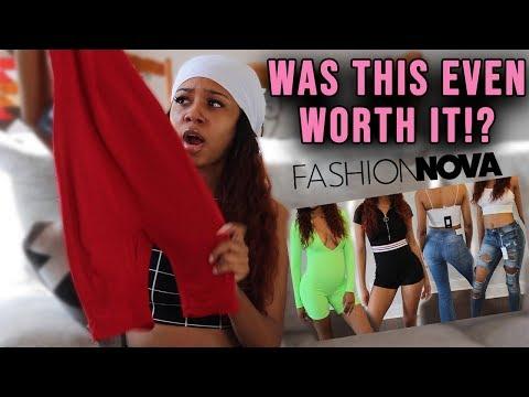 IS FASHION NOVA FOR SKINNY GIRLS??...I was wrong🤷🏽♀️