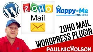 Zoho Mail Wordpress Plugin Setup