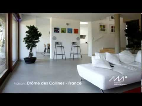 Béton ciré Matières Marius Aurenti - YouTube