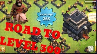 Clash of Clans Pushing to level 300 Town hall 9| Lets play clash of clans | Req n Leave | Req N GTFO