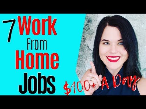 Make Money Online With These 7 Work From Home Jobs [$100/day Or More]