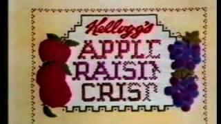 Apple Raisin Crisp - Commercial Classic 1985