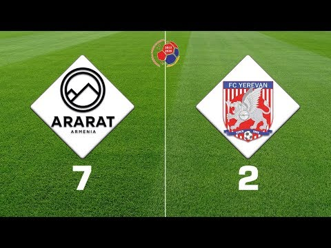 Ararat-Armenia - Yerevan 7:2, Armenian Premier League 2019/20, Week 13