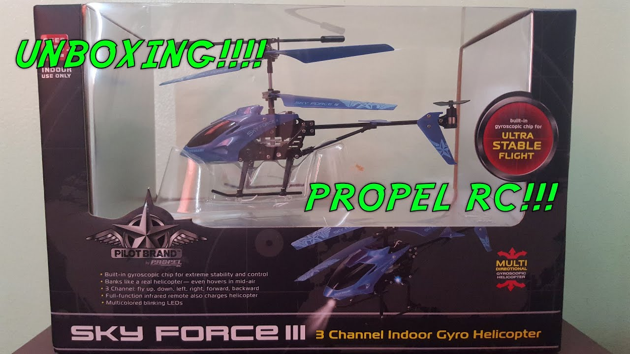 Unboxing The Pilot Brand By Propel Sky Force Iii Youtube