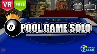 Pool Game Solo Play pool in 3D VR view as it should be played in real world.