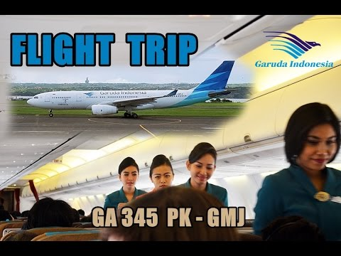 Flight Trip Denpasar Bali to Surabaya | Garuda Indonesia GA 345 PK-GMJ