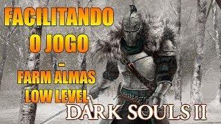 DARK SOULS 2: FACILITANDO O JOGO #1   FARMANDO XP LOGO DE INICIO  UPAR LEVEL RAPIDO. thumbnail