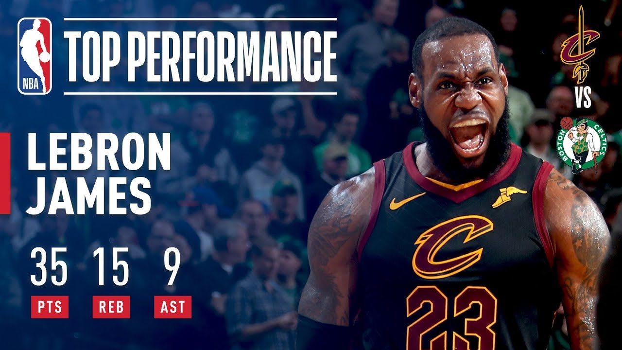 50ab3be5d47a LeBron James  DOMINANT GAME 7 Performance! - YouTube