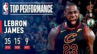 LeBron James' DOMINANT GAME 7 Performance!