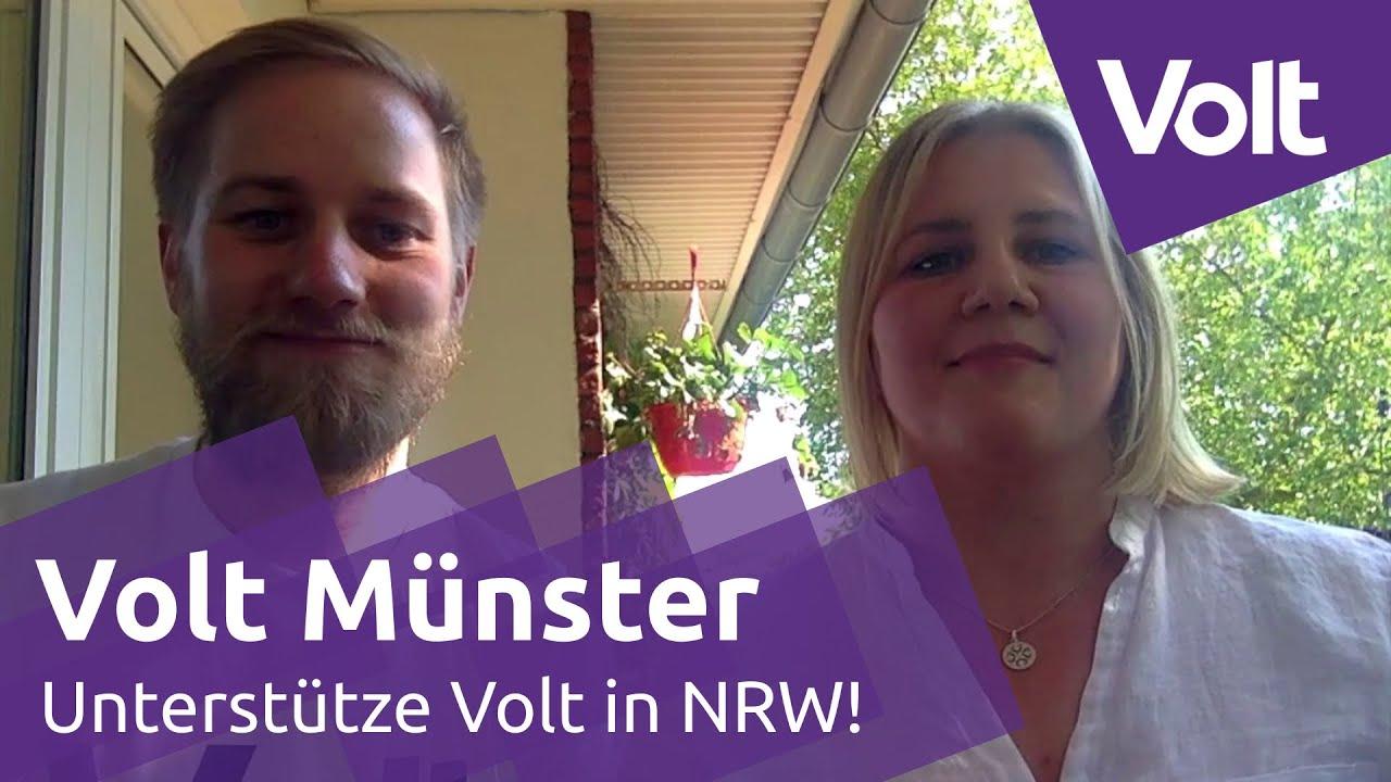 YouTube: Volt Münster braucht Dich! Unterstütze die Politik der Zukunft | #VoteVolt #JetztBistDuDran
