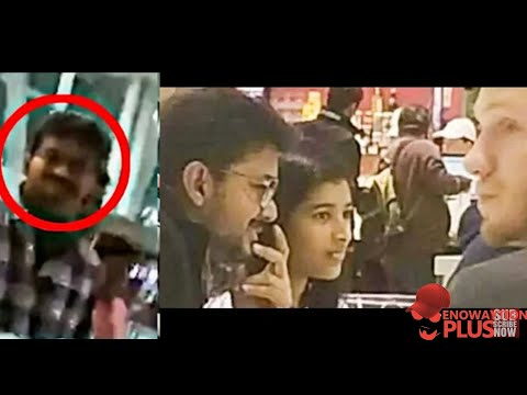 Trending Video: Thalapathy With His Daughter Saasha In Canada | Thalapathy Reaction To Fans 😍