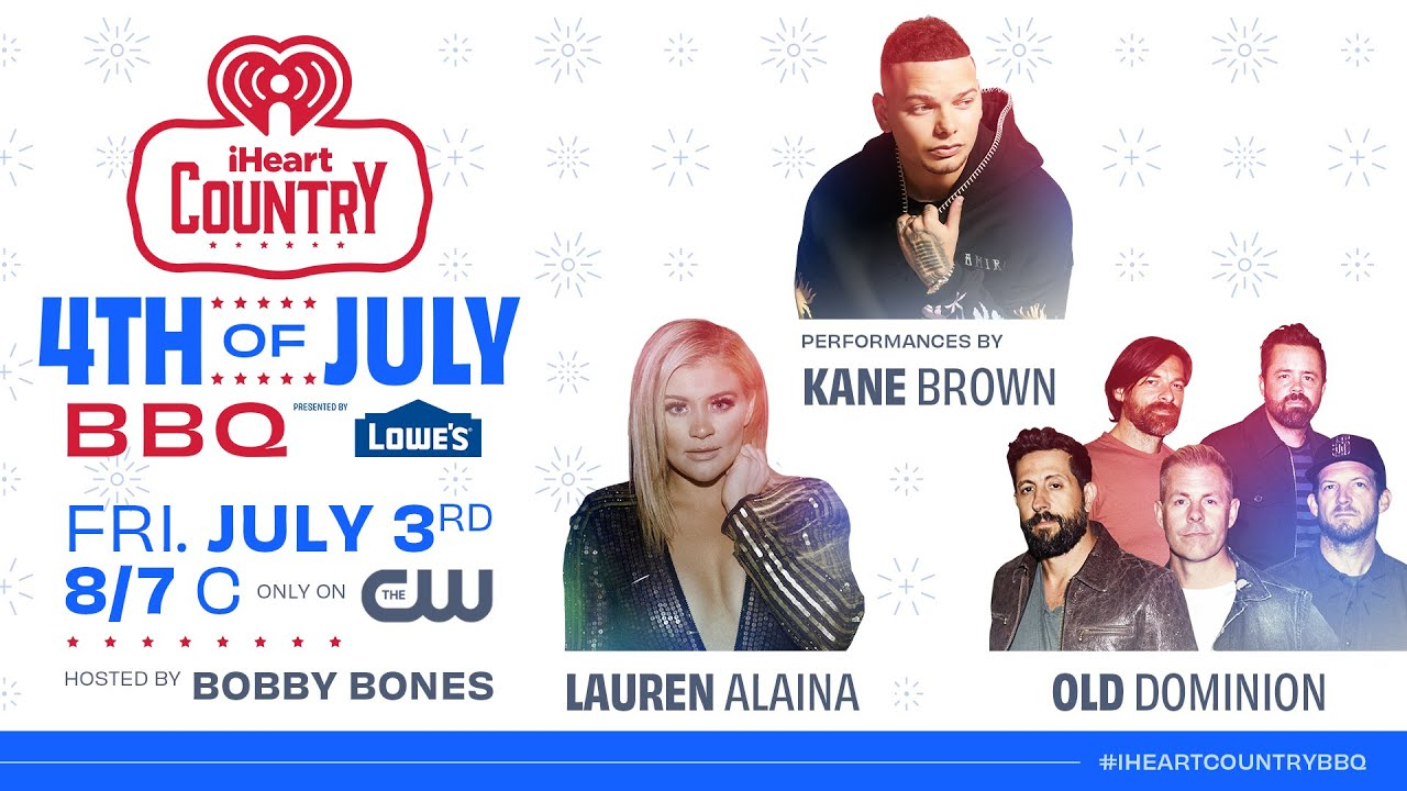 Kane Brown, Lauren Alaina & Old Dominion To Perform At iHeartCountry 4th of July BBQ! | Fast Facts