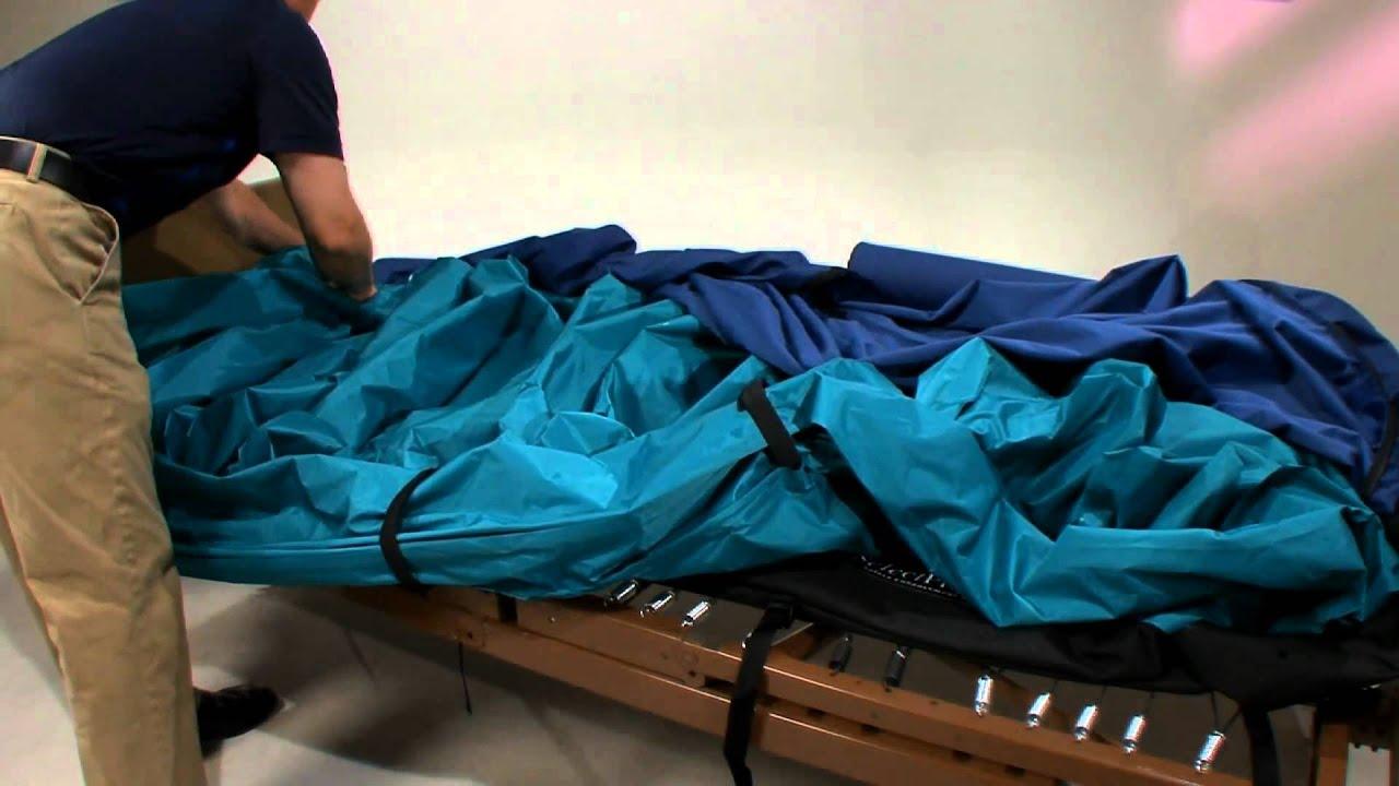 ROHO SelectAir Low Air Loss Mattress Systems Set Up Adjustment