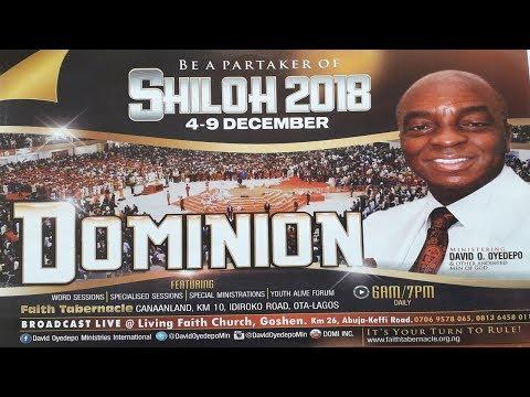 SHILOH 2018 DAY 4: ENCOUNTER & CELEBRATION NIGHT - DECEMBER 07, 2018