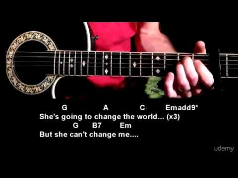 Can't Change Me by Chris Cornell - Chords, Lyrics, Strum Pattern