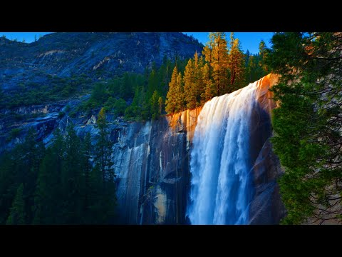 """Relaxing Beautiful Music, Peaceful Instrumental Music, """"Waterfalls of the World"""" by Tim Janis"""