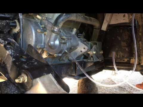 Polaris rzr 800 water pump weep hole fix