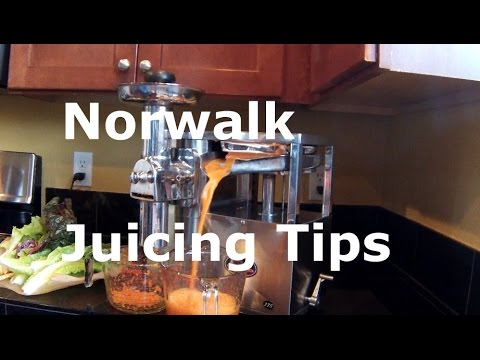 How to juice with the Norwalk Juicer