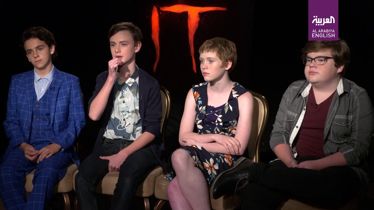 Exclusive Interview With Cast Of Horror Movie It Youtube