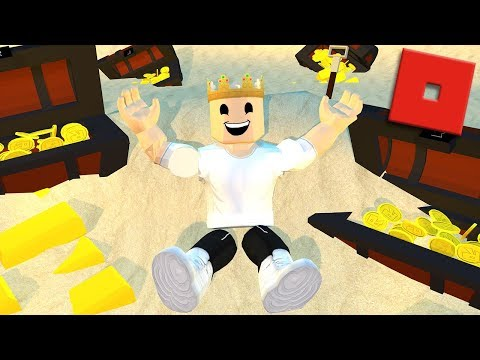 DISCOVERING A HUGE TREASURE | Roblox - Treasure Hunt Simulator