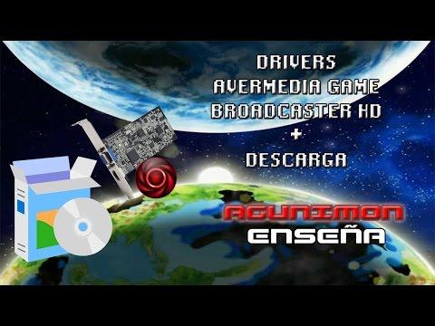 ENSEÑA - DRIVERS AVERMEDIA C127 GAME BROADCASTER HD + DESCARGA