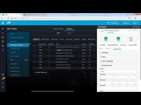 USG - UniFi Security Gateway - por Rogério Barion - YouTube